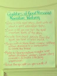 qualities of good personal narrative writing poster tn anchor qualities of good personal narrative writing poster tn