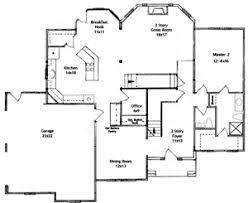 Master Bedroom First Floor Plans  floor plans   master    Two Master Bedroom Suite Floor Plans
