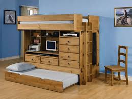f wood bunk bed with desk in white bunk bed desk trundle
