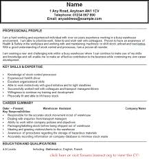 Profile Example For Resume  resume profile statement examples     Resume Maker  Create professional resumes online for free Sample