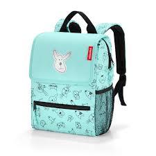<b>Reisenthel</b> BackPack Kids <b>Cats</b> & <b>Dogs</b> Mint– Little Baby