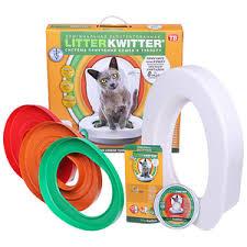Система приучения кошек к туалету «<b>Litter Kwitter</b>» - купить по ...
