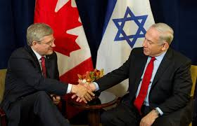 Image result for Stephen Harper' WITH NETANYAHU PHOTO