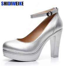 2019 Factory Outlet Big <b>spring</b> ladies footwear casual <b>thick heels</b> ...