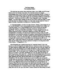my view of america essay