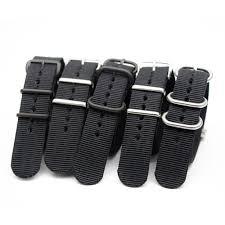 <b>Soft Breathable Nylon</b> Wristbands for Men Women NATO Strap ...