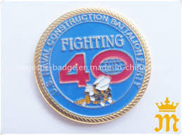 <b>Customized</b> 3D Shiny Gold Plated <b>Rope Edge</b> Challenge <b>Coin</b> ...