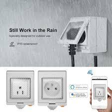 <b>SONOFF Waterproof</b> Wifi Smart Power Socket - 4AllNeedS