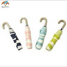 2019 <b>Stripe Umbrella</b> Durable Fashionable UV Proof <b>Three Folding</b> ...