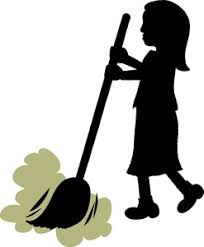 Image result for sweeping floor
