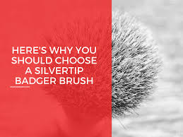 here s why you should choose a silvertip shaving brush major beard