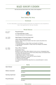 physiotherapist resume samples   visualcv resume samples databasephysiotherapist resume samples