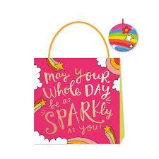 Happy News <b>May Your Day Sparkle</b> Gift Bag, Medium | Ocado