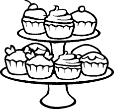 Small Picture Cupcakes Coloring Page Cookie Pinterest Coloring books and Craft