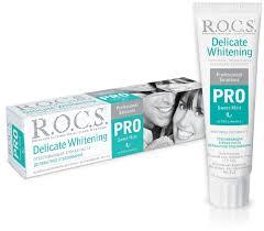 R.O.C.S <b>Зубная паста PRO</b> Delicate White, <b>Sweet</b> Mint