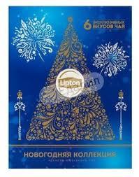 <b>Чайный набор</b> Lipton Discovery Collection <b>Новогодняя</b> коллекция ...