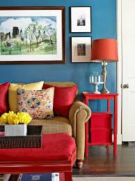 decor red blue room full: red white and blue decor with a splash of yellow