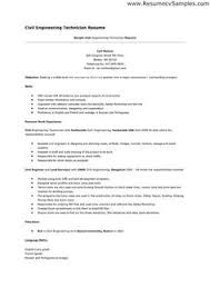 Civil Engineering Resume Sample   Resume Genius happytom co