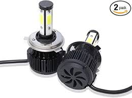 Lighting & Lamps LED Headlight Bulbs <b>H4 HB2</b> 9003 <b>CSP</b> LED ...