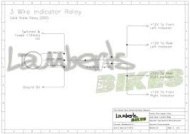 indicator relay lamberts bikes 3 wire ssr flasher unit wiring diagram