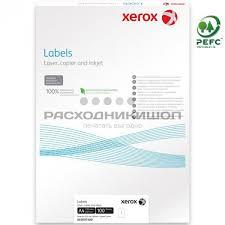 Купить <b>XEROX</b> 003R97400 бумага самоклеющаяся неделённая ...