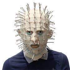 Hot Realistic <b>Halloween</b> Cool <b>Mask Horror</b> Movie Hellraiser Scary ...