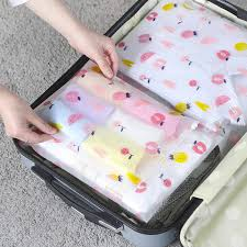 Women Travel Transparent Cosmetic Bag Zipper Trunk Makeup ...