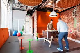 besides paying homage to the company and its initial beginnings ddock has splashed a bit of dutch pride into the interior to give the office atmosphere a atmosphere google office