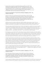ralph waldo emerson nature essay summary Millicent Rogers Museum