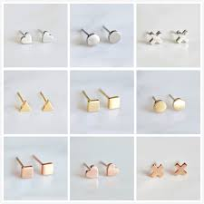 <b>BOAKO</b> Small <b>Earrings</b> For Women <b>Stainless Steel Earring</b> Girl ...