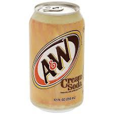 <b>Газированный Напиток A&W</b> Cream Soda 355мл
