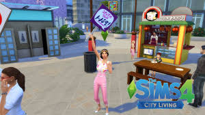let s play the sims city living social media career working let s play the sims 4 city living social media career working from home