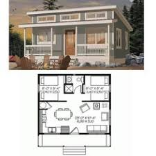 Cabin  Floor plans and Loft on PinterestLove this tiny house   and it    s just large enough for financing