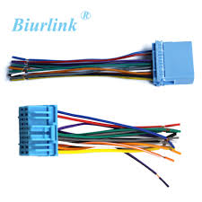 Biurlink Car Radio Wire Harness Cable Adapter For Honda <b>Fit Buick</b> ...