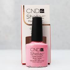 <b>CND Shellac</b> UV Gel Polish - <b>BLUSH</b> TEDDY 90484 7.3ml 0.25oz ...