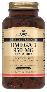 <b>Тройная Омега-3 950 мг ЭПК</b> и ДГК капсулы 100 шт. — купить по ...