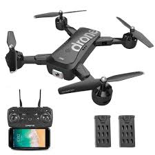 Robot Platforms SG706 <b>RC</b> Drone with <b>Dual Camera</b> 4K Optical ...