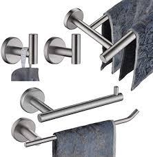 JQK Bathroom Hardware Towel Bar Set, 5-Piece Bath ... - Amazon.com