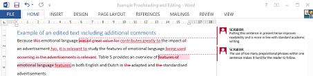 Dissertation form style editor