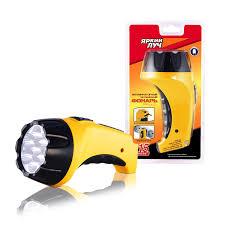 <b>Ручной фонарь Яркий</b> луч LA-07 купить по цене 379.0 руб. в ОБИ