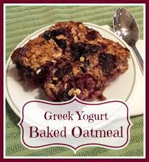 Greek Yogurt Baked Oatmeal - Sublime Reflection