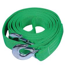 Green Trailer Winch Replacement Strap 4.5m 6 ton 50MM <b>Widened</b> ...