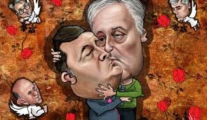 Image result for plenkovic i covic karikature