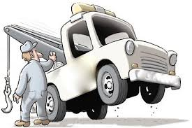 Image result for cartoon rv getting towed