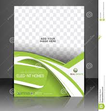 brochure template vector illustration for real estate project real estate agent flyer stock images