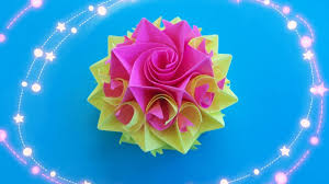 Как Из Бумаги Сделать Цветок Розу Видео Мастер Класс ...