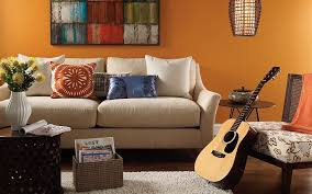 room paint color ideas find casual living orange room livingrooms  casual living orange