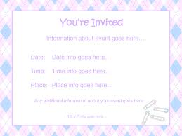 baby shower invitation template word info template baby shower invitation template