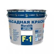<b>Vincent</b> Muralith <b>F 1</b> / <b>Винсент</b> Муралит Ф 1 <b>краска</b> плиолитовая ...