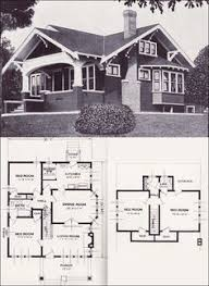 images about Craftsman Bungalow Houses on Pinterest    Another Vintage House Plan